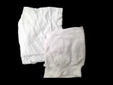 Reclaimed White Sweatshirt Cloth